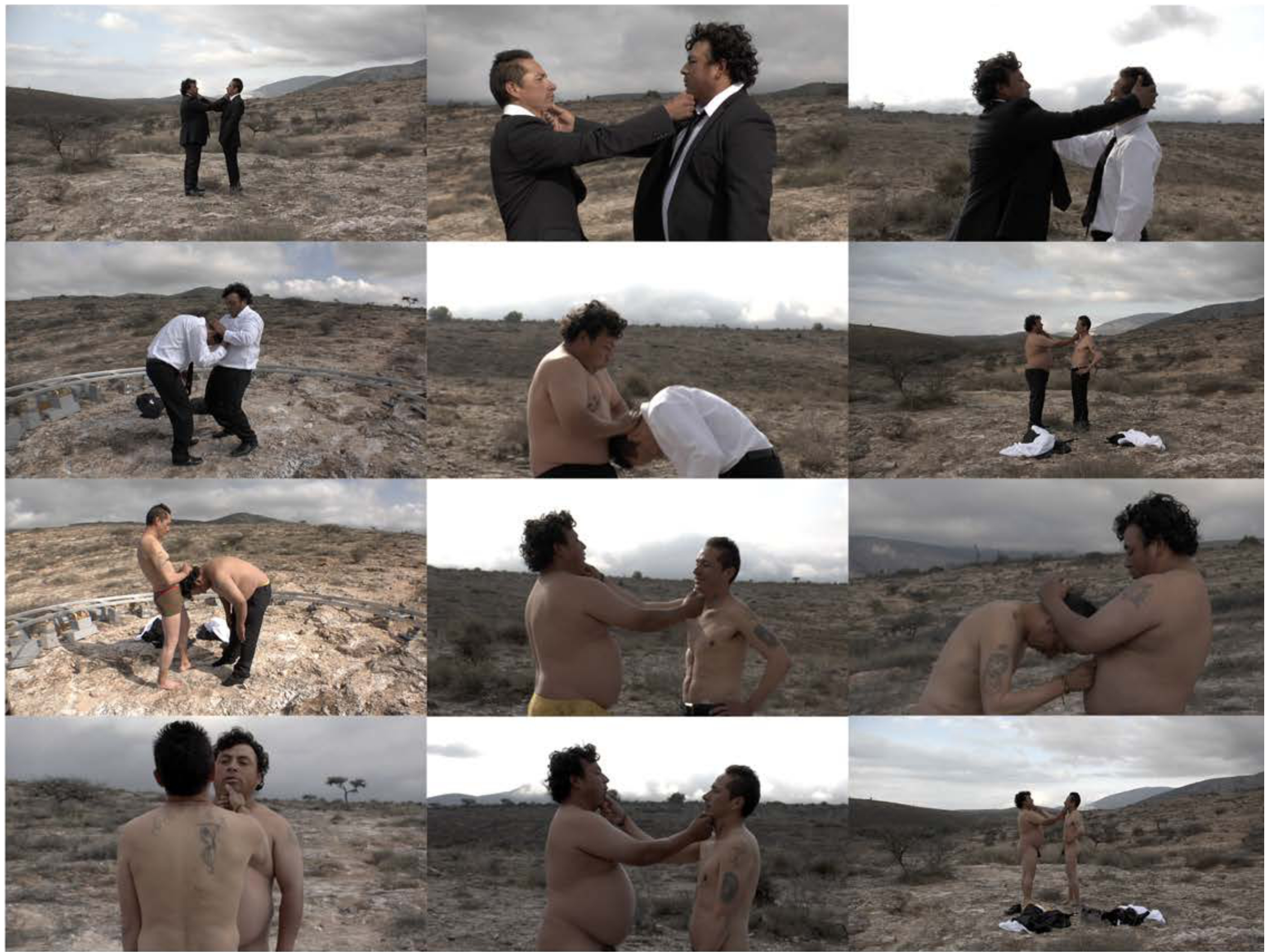 El primero que ría (The first one to laugh), 2012, Video