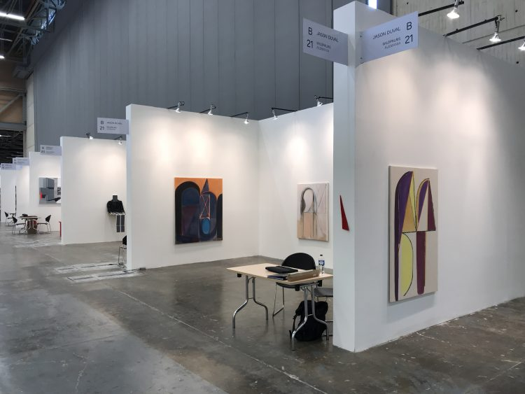 jason duval and wildpalms at artbp 2018 in bogota