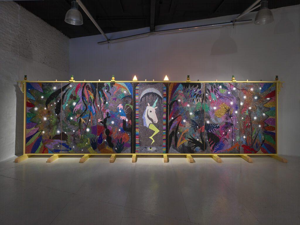 Exhibition view Nika Fontaine wilpalms