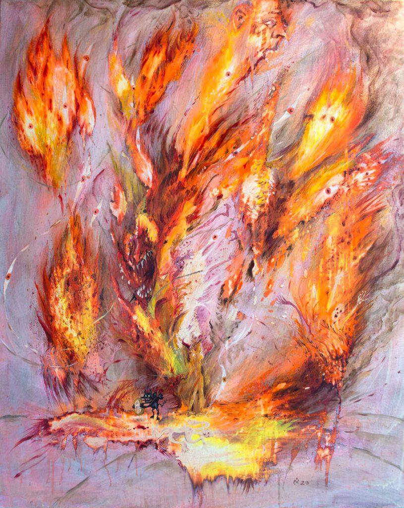 New work Nika Fontaine by wildpalms