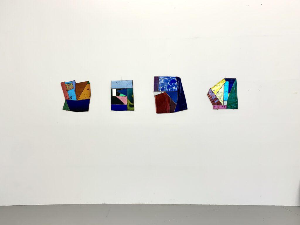 Paul Hance glas works at wildpalms gallery exhibition dc open düsseldorf