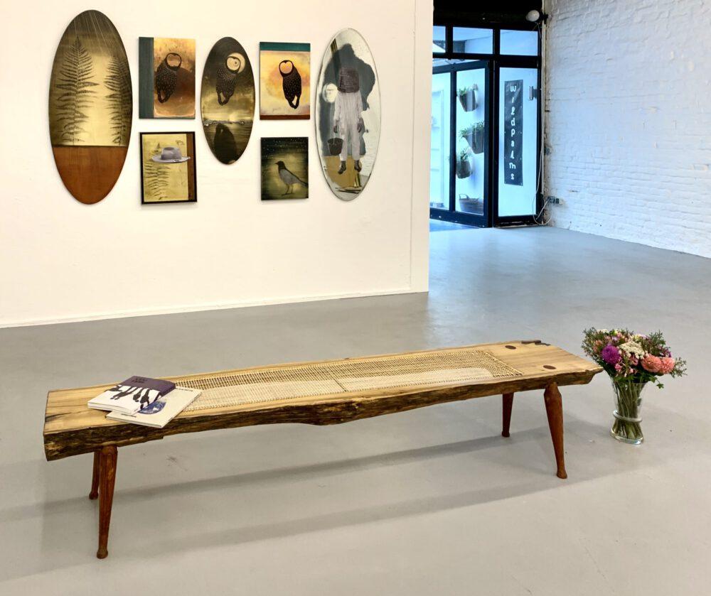 Robert Elfgen Installation view wildpalms gallery exhibition passage dc open
