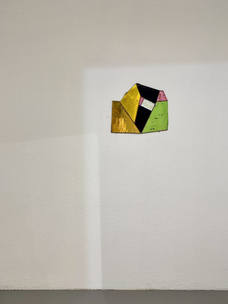 Paul Hance glass work at wildpalms gallery exhibition dc open düsseldorf