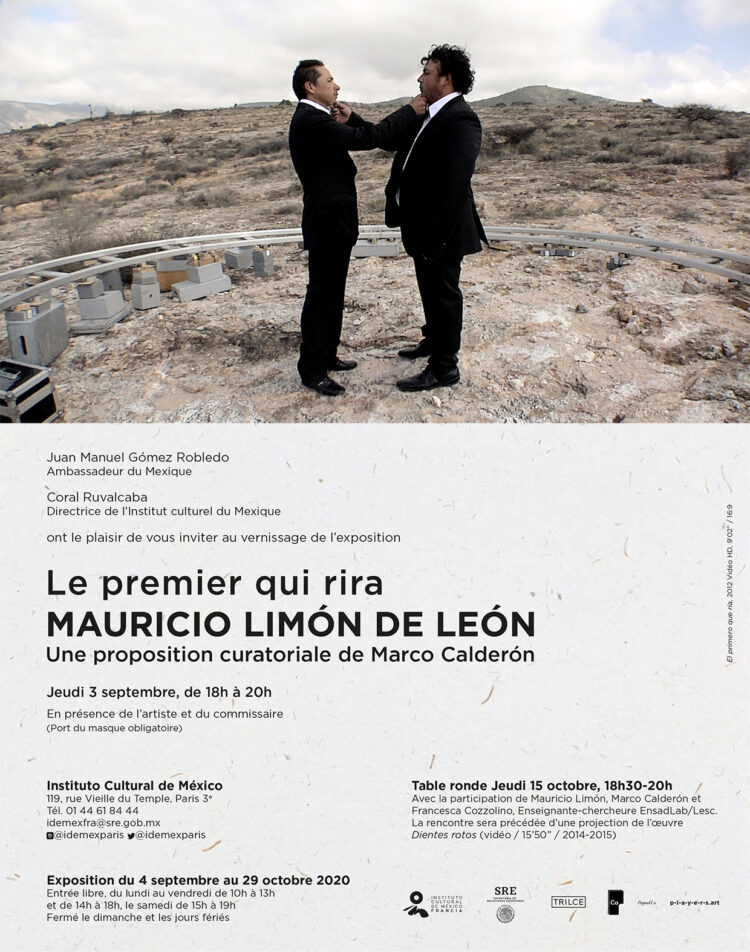 Mauricio Limon exhibition in Paris