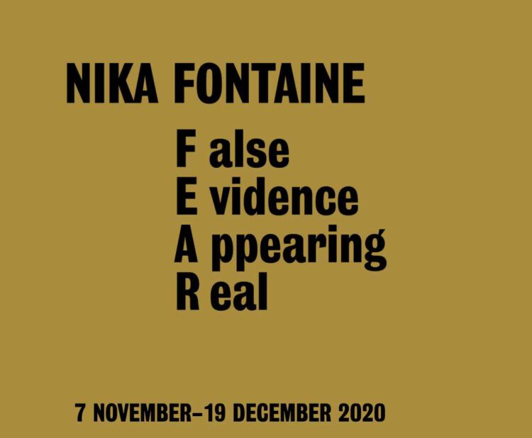 Nika Fontaine Exhibition Berlin