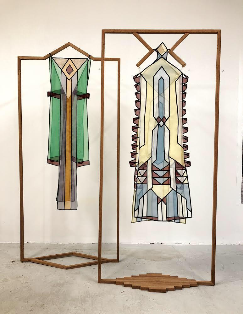 Mauricio Limon Dresses Work in Progress Wildpalms