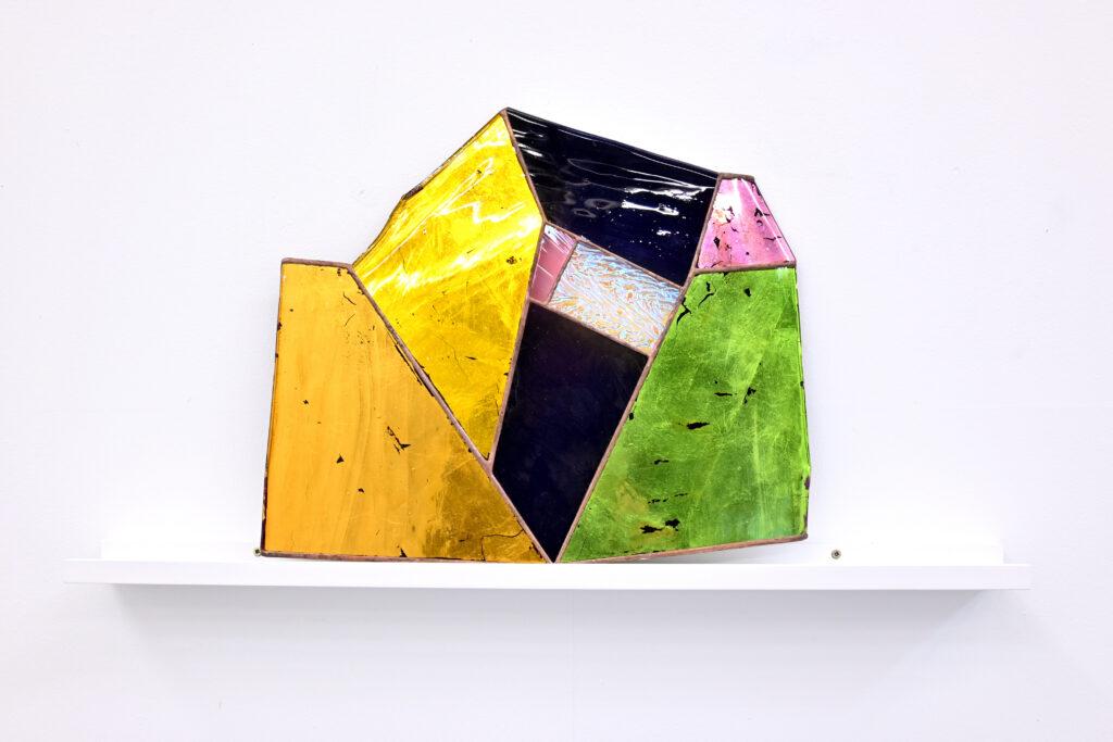Paul Hance Rasa series mouth-blown glass art work
