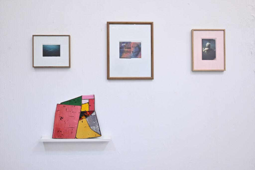 Paul Hance mouth-blown glass, photography, wildpalms Düsseldorf exhibition