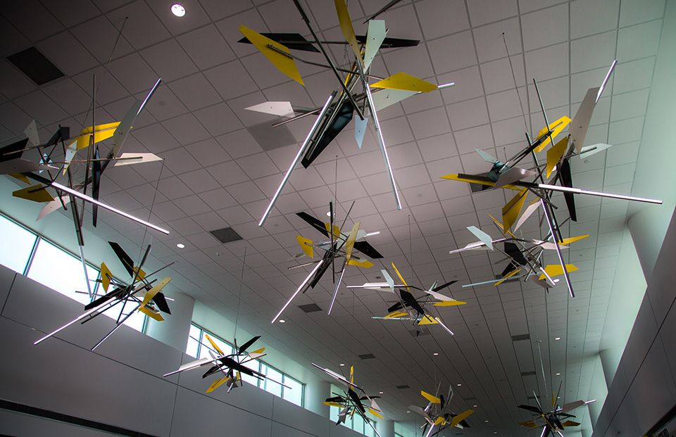 Anibal Catalan Denver Airport permanent installation art work mexiko usa