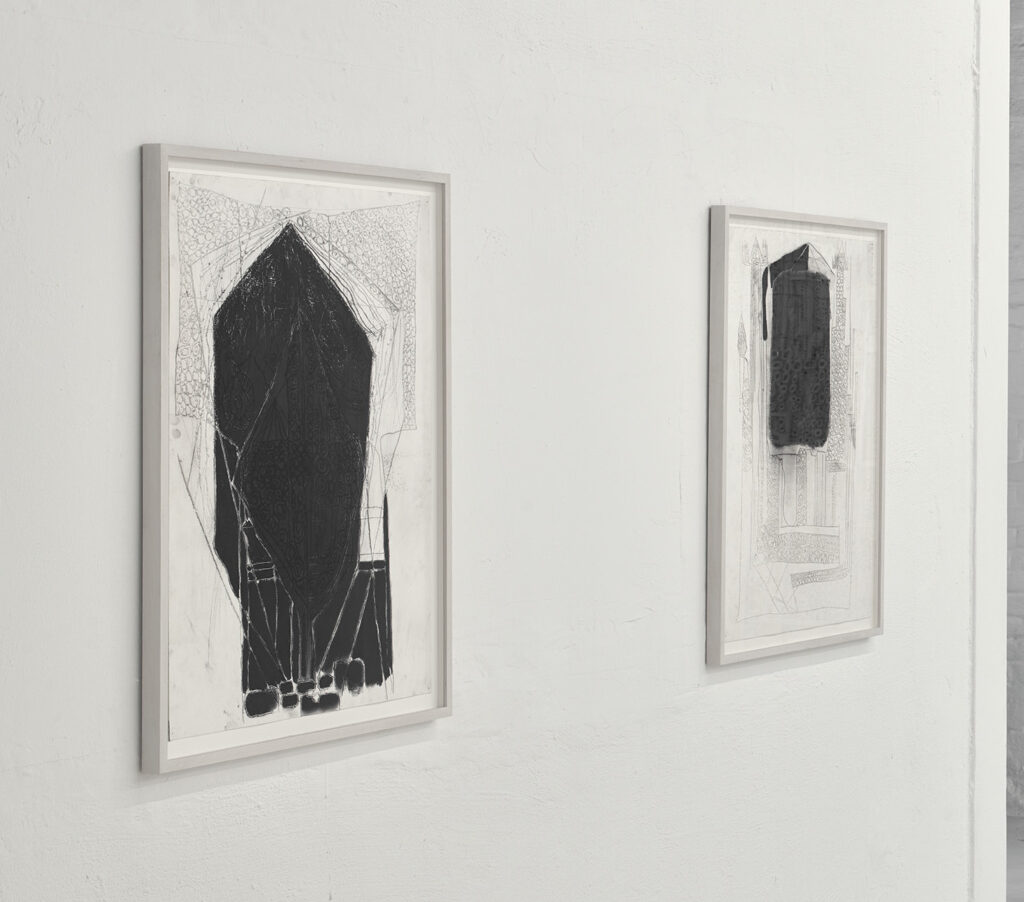 Lauriston Avery drawings wildpalms Magical Opertions exhibition duesseldorf