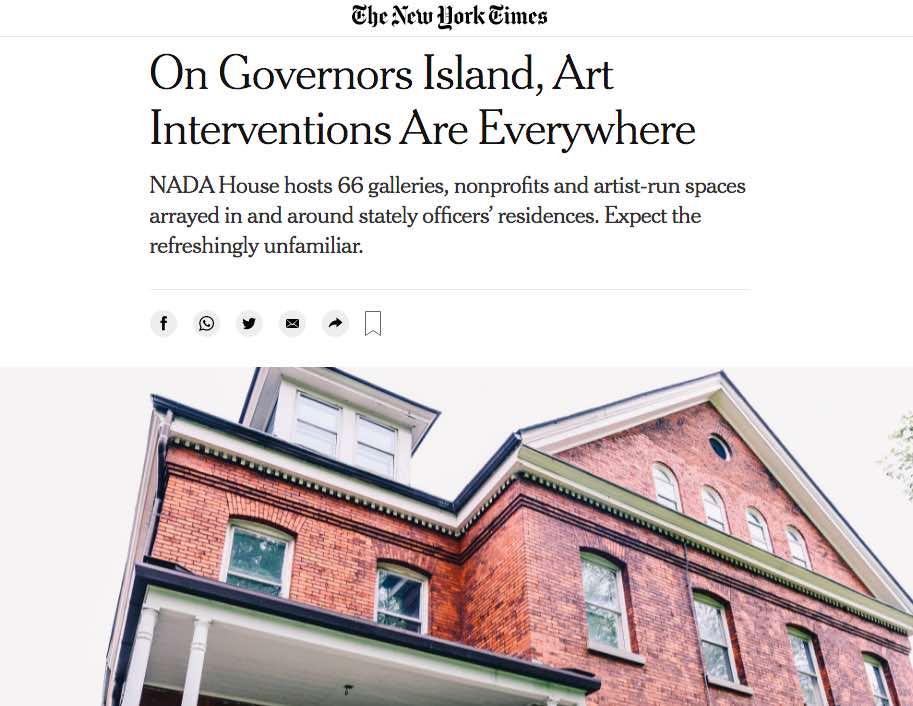 Roberta Smith Article on Rachel Libeskind New York Times Wildpalms