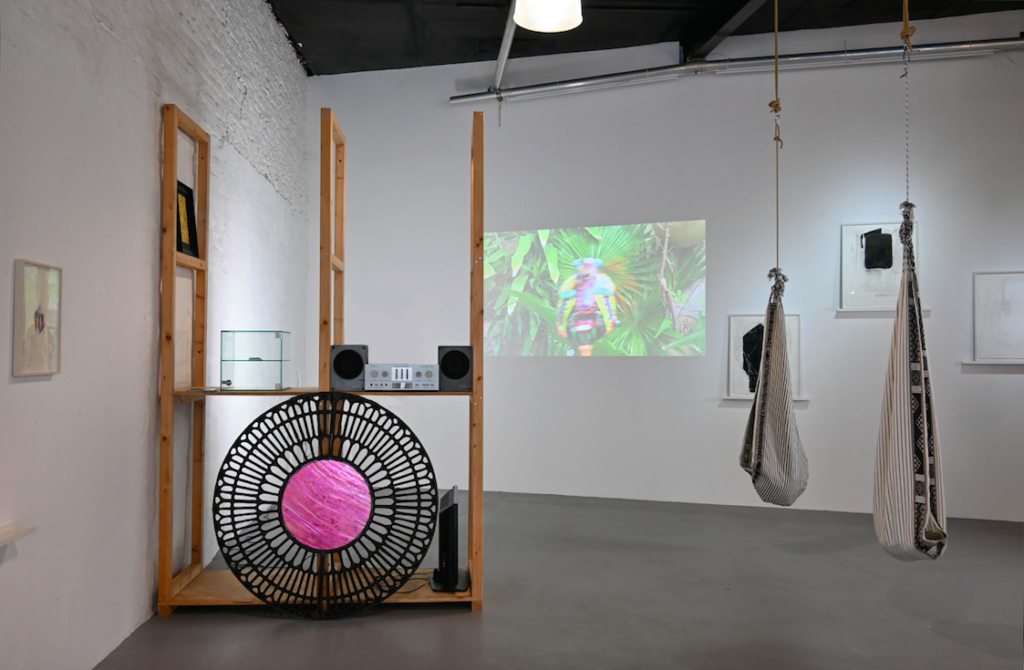 Marco montiel soto paul hance exhibition view wildpalms magical operations duesseldorf