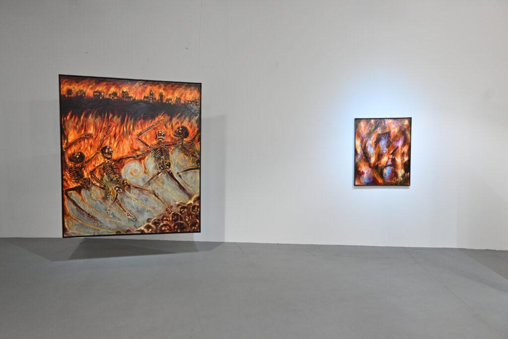 Nika Fontaine exhibtion calcination dc open düsseldorf wildpalms gallery