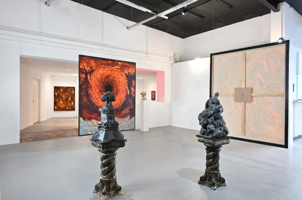 Nika Fontaine Calcination wildpalms düsseldorf gallery exhibition dc open 2021